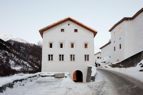 Muzeum Susch aussen, @ Conradin Frei & Muzeum Susch / Art Stations Foundation CH