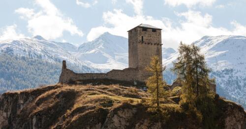 Steinsberg in Ardez